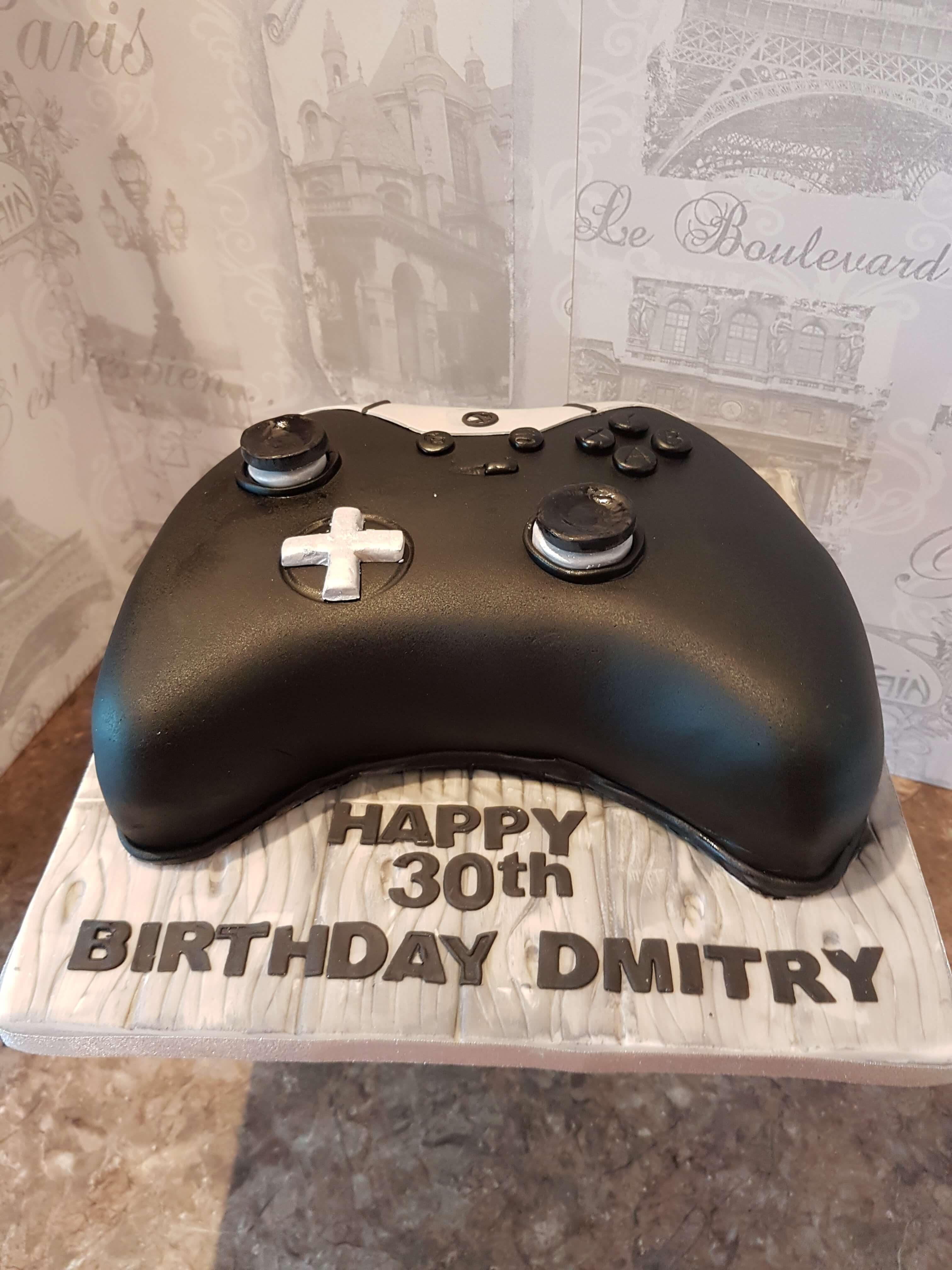 Gamer Birthday Cake