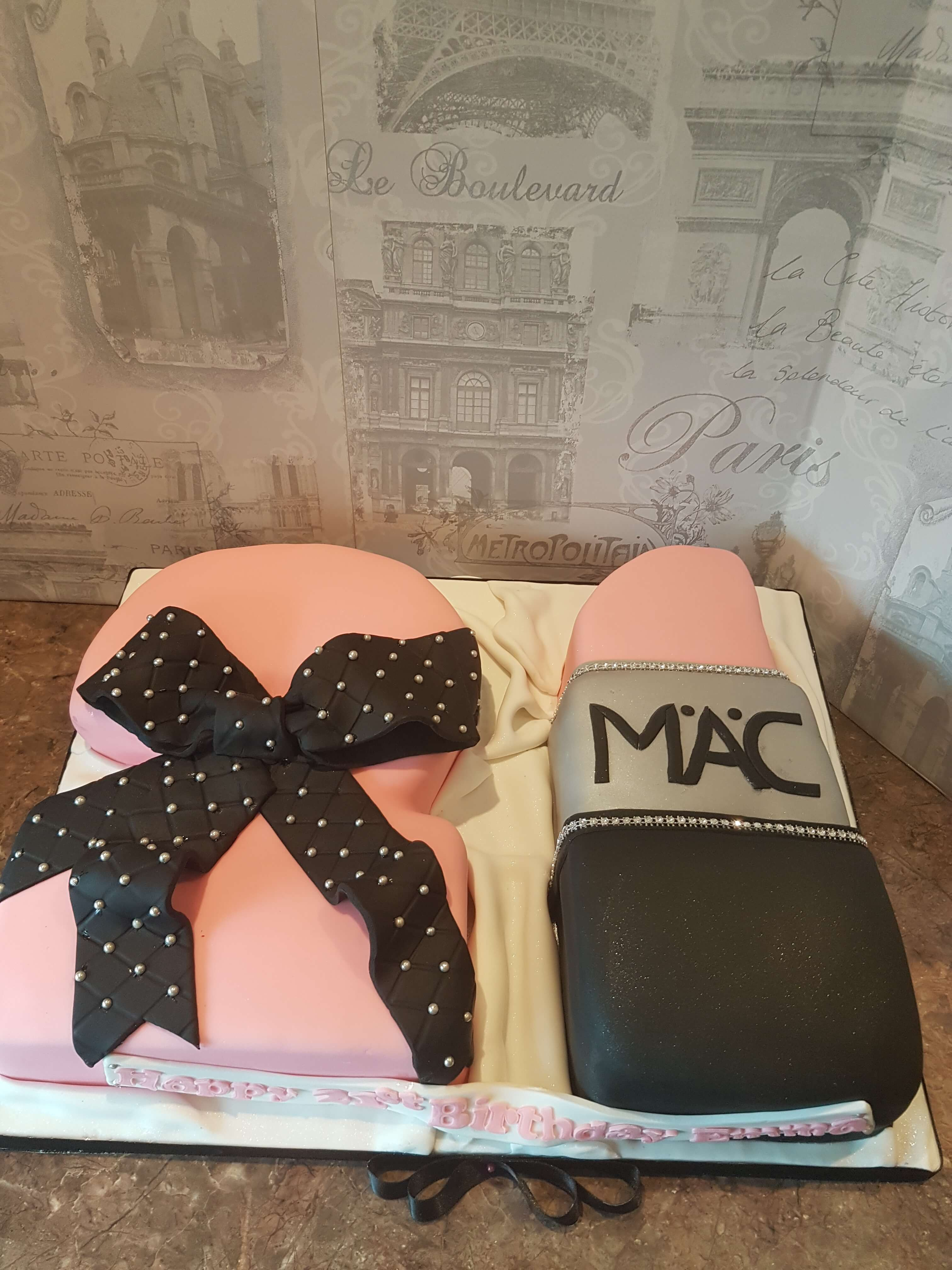 Marvelous M.A.C. Cake