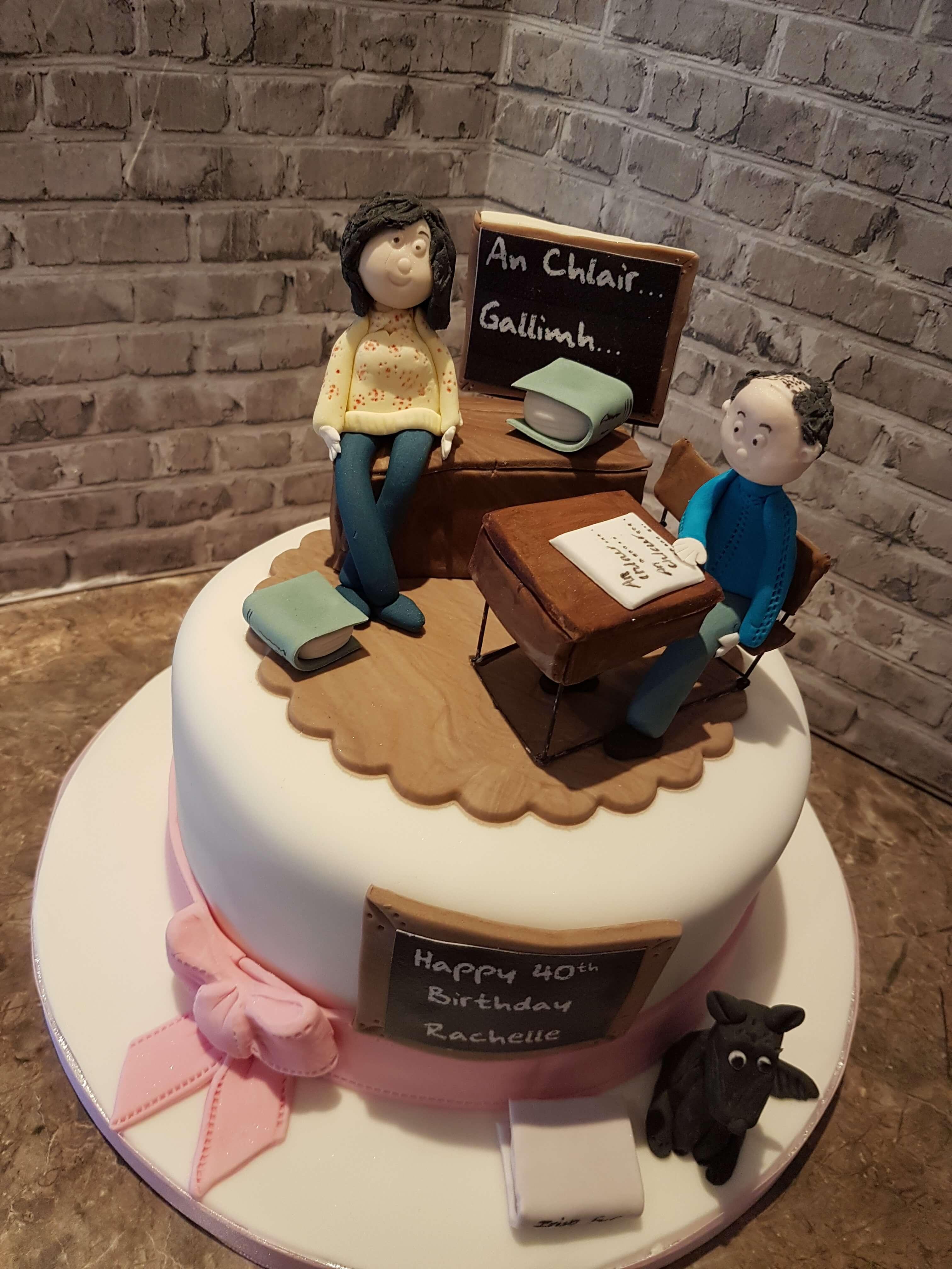 Brilliant Books Birthday Cake