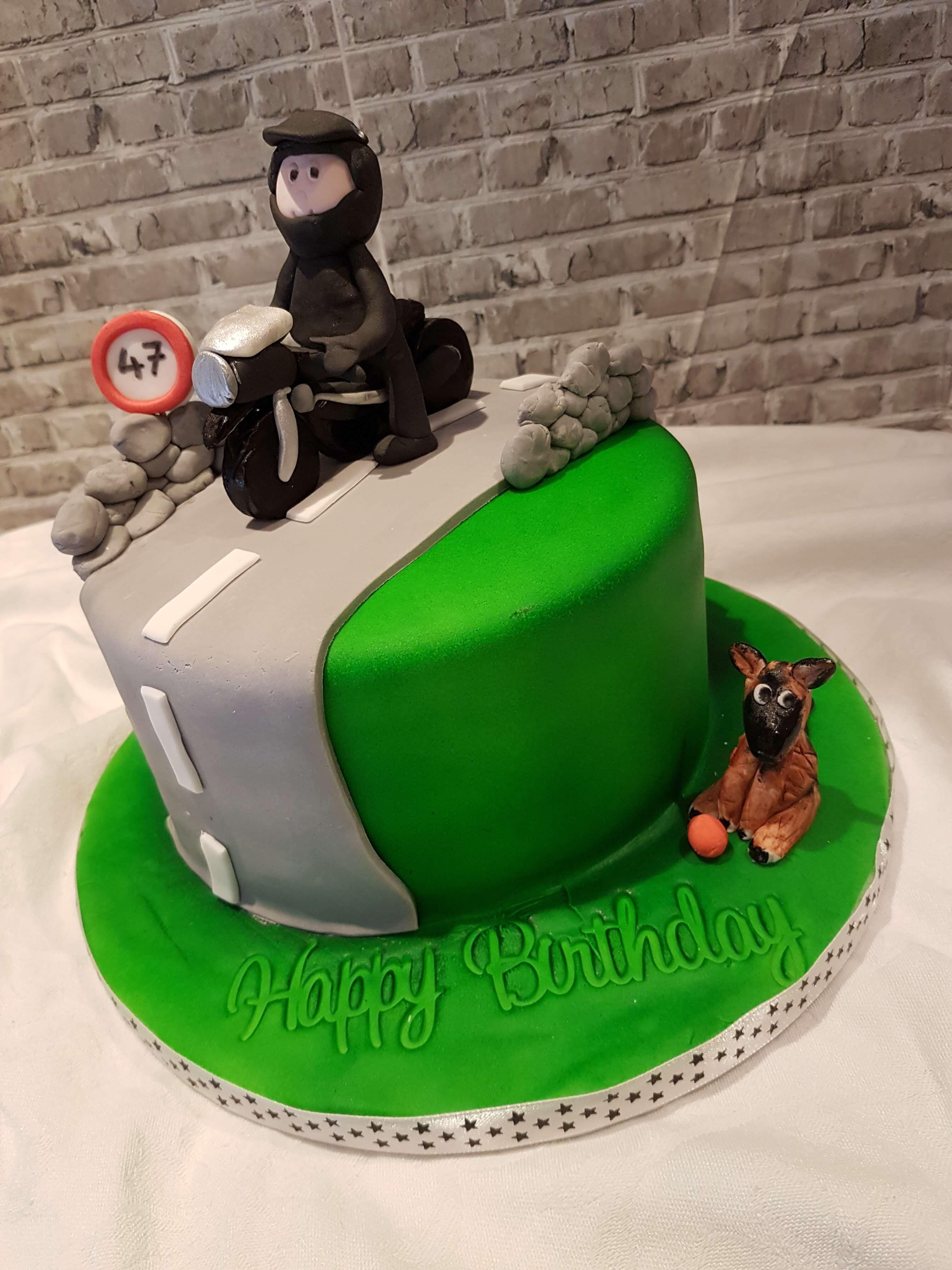 The Open Road Birthday Cake