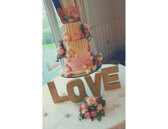 wedding cakes athenry beautiful cake with love sign