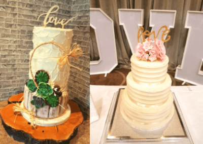 wedding cakes ireland prices The Cake Emporium wedding cake with greenery